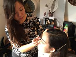 i stud at london westminster college where i was trained by the likes of celebrity makeup artist margo holder and other successful makeup artist s in the
