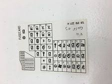 fuse diagram vw 99 05 vw jetta golf mk4 fuse diagram key card genuine oem
