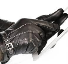 vetelli men s winter gloves black leather driving gloves touchscreen technology at
