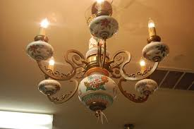 antique ping with my mom pertaining to stylish household italian ceramic chandelier ideas