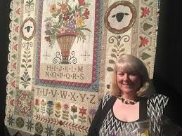 Sampler-style quilt wins top prize at Quilt Festival - Houston ... & Janet Stone of Overland, Kan., won the Handi Quilter Best of Show Award Adamdwight.com