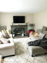 living room makeover modern transitional living room makeover step daughters house diy living room makeover on