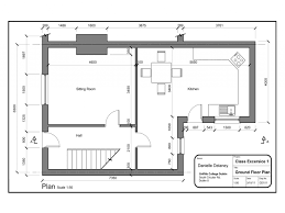 floor ideas simple house plans with measurements drawing south and drawing simple house plan autocad drawing simple house plans