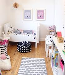 Lovely soft hues with cute patterns   10 Gorgeous Girls Rooms - Tinyme Blog