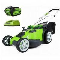 <b>Газонокосилка аккумуляторная Greenworks</b> G-MAX <b>40V</b> ...
