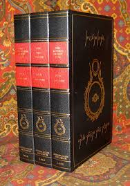 the lord of the rings 1st uk edition 1st impression set in custom