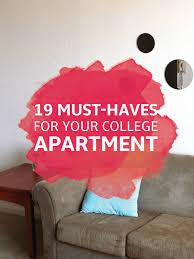 Decorate College Apartment Magnificent 48 Essentials For Your College Apartment Kitchen Room Decor