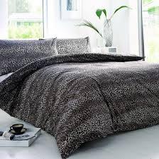 leopard print duvet cover argos