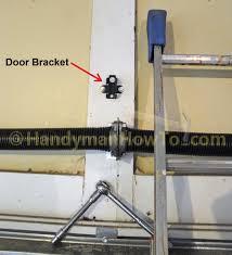 garage door bracketChamberlain Belt Drive Garage Door Opener Review  Part 2