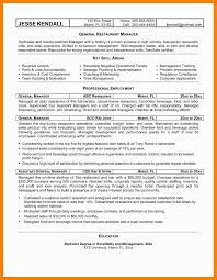 Operations Manager Resume Sample Pdf Best Of General Agreeable