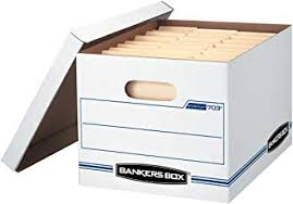 office file boxes. Bankers Box Stor/File Storage With Lift-Off Lid, Letter/Legal Office File Boxes B