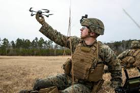 Marine Rifleman Marines Acquire Hundreds Of Quadcopter Drones For Infantry