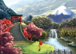 Japanese Landscape By VegeraVV On DeviantArt