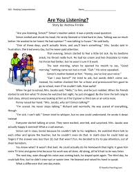 Reading Comprehension Worksheets For 3rd Grade. Reading ...