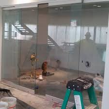 conference room with sliding glass doors near atlanta roswell and sandy springs georgia