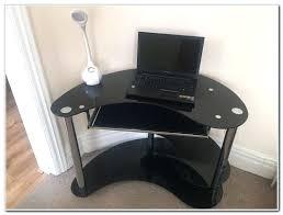 desk kidney shaped black glass computer desk kidney shaped glass top desk kidney shaped glass