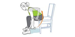 Chair Gym Exercise Chart Upper Body Chair Workout Ww Usa