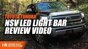 Tundra Night Rider Light Updated Toyota Tundra Led Hood Light Bar Nsv Knight Rider For 2014