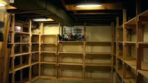 post basement shelving plans inexpensive ideas units image of storage