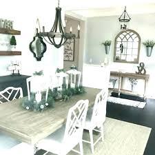farmhouse dining room chandelier table lighting ideas99 ideas
