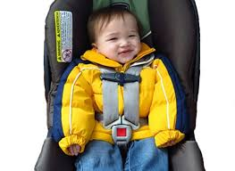 puffy coats on kids in car seats