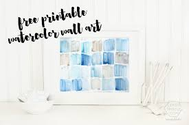 add a touch of color to any room any style with this free printable