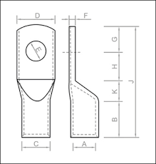 Ring Terminals Size Chart 10 Exact Cable Lug Sizes Chart