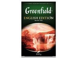 <b>Чай черный Гринфилд English</b> Edition листовой (200 гр) по ...