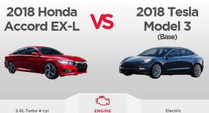 Honda Accord Model Comparison Chart Would You Ever Cross Shop A Tesla Model 3 With A 2018 Honda