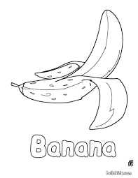 Small Picture Banana coloring pages Hellokidscom