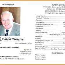 25 Funeral Program Templates Pdf 625021700865 Free Template For