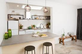 Diy Flat Pack Kitchens Kitchen Gallery Industrial Elegance Kaboodle Kitchen