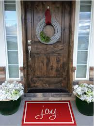christmas door mats outdoor. Christmas Doormats Painted Rugs Craft Remedy Door Mats Outdoor H