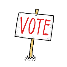 Image result for image of vote sign