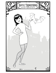 Small Picture Hotel Transylvanias Mavis Free Printable Coloring Pages