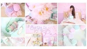 Paris Room Decorations Spring In Paris Diy Room Decor Girly French Part 1 Youtube