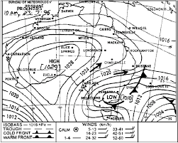 How To Read A Synoptic Chart Australia Apply Weather Information When Navigating A Vessel Mh701a