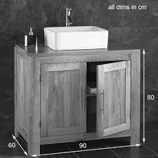 bathroom basin and cabinet grey sink unit home decorating interior