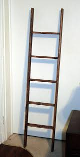 Decorative Wall Ladder   Quilt Rack Ladder   Quilt Holder Wall
