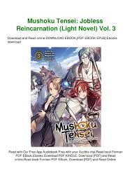 Mushoku Tensei Light Novel Download Read Mushoku Tensei Jobless Reincarnation Light Novel