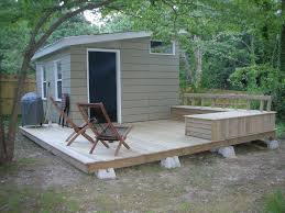 patio storage bench sheds deck