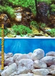 Aquarium Background Pictures Seaview Aquarium Background Double Sided 29 5cm High Aquatic