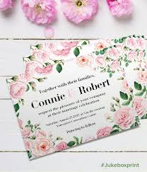 13 best wedding invitations images on pinterest wedding Embossed Wedding Invitations Vancouver design your wedding invites with this free illustrated floral template from jukeboxprint click here Embossed Graphics Wedding Invitations
