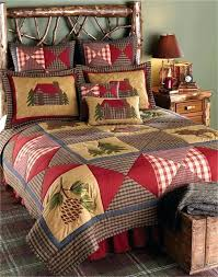lodge bedding set applied automatically at checkout zoom cabin quilts quilt sets queen automatic browning pink comforter set