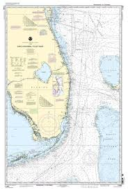 Noaa Nautical Chart 11460 Cape Canaveral To Key West