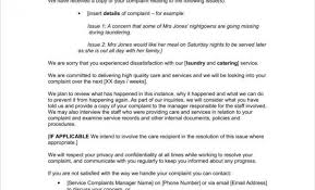 Complaints Letter Format Complaint Letter To Health Insurance Company Sample Tag