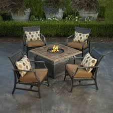 patio furniture sets with fire pit. Exellent Pit Chat Sets Patio Furniture Set With Fire Pit Table New 5  Piece  With Patio Furniture Sets Fire Pit R