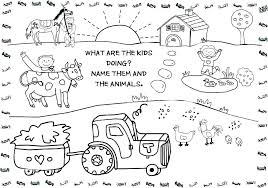 Farm Animal Coloring Sheets Coloring Pages Farm Animals Farm Animals