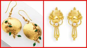 Gold New Design Tops Top Designer Gold Earrings Tops For Girls New Designs