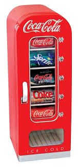 Coke Vending Machine Refund Custom Soda Vending Machine Mini Fridge Retro Coca Cola Vintage Beverage